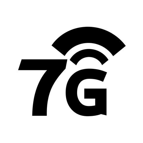 7G Wireless Wifi-Symbol