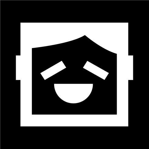 menschliche Emotion-Symbol