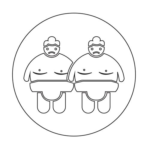 Sumo wrestling People Icon