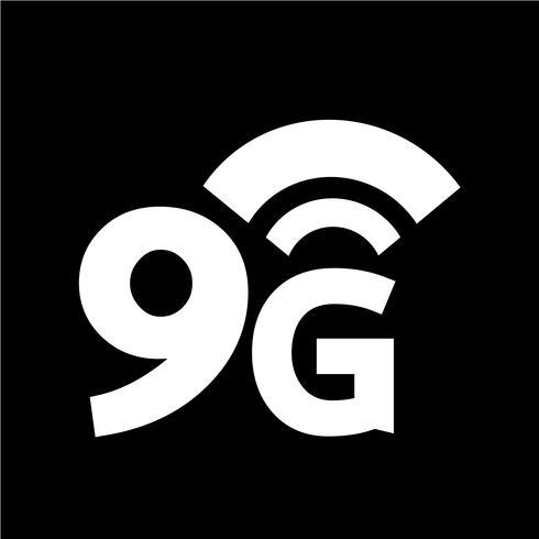 Icono inalámbrico de 9G Wifi