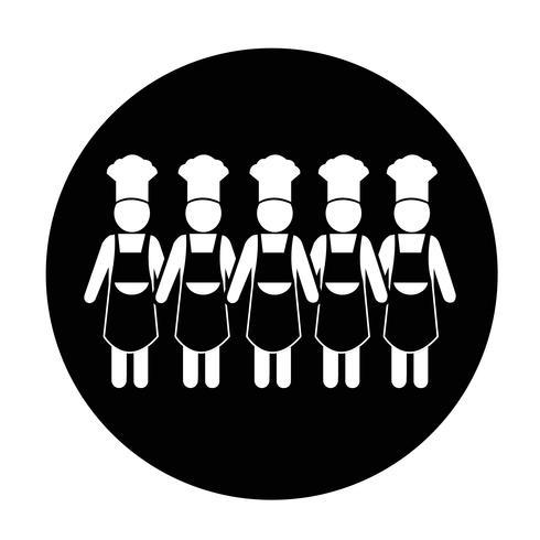 Icône de gens chef