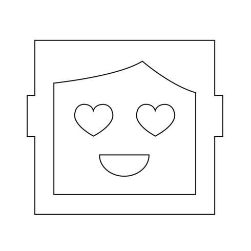 menselijke emotie pictogram