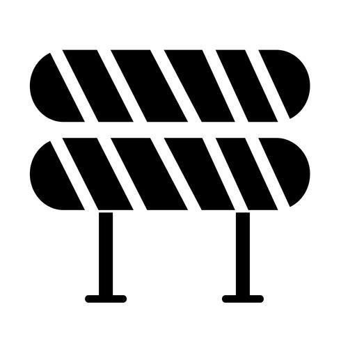 Icono de barrera vial