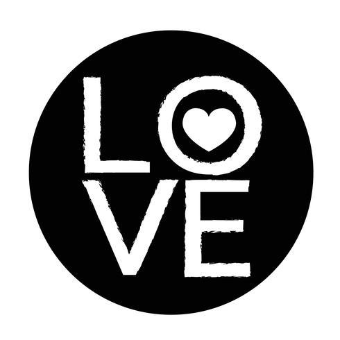 Valentijnsdag kaart pictogram