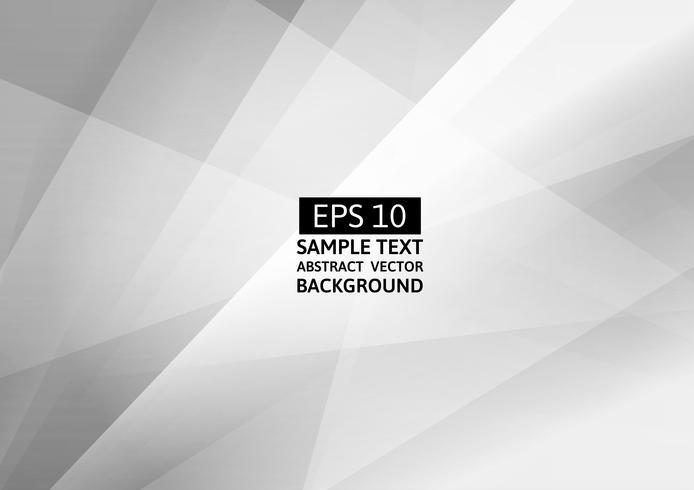 Abstract gray and white color geometric modern design vector background