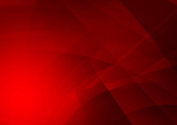 Fondo astratto geometrico di vettore di colore rosso, progettazione moderna