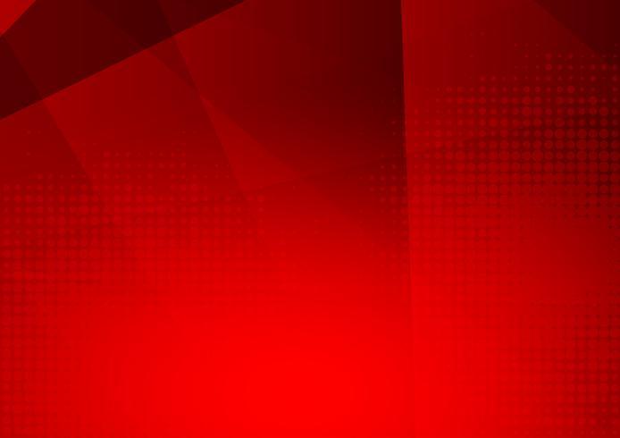 Rode moderne futuristische geometrische abstracte vectorachtergrond met exemplaar ruimte, modern ontwerp