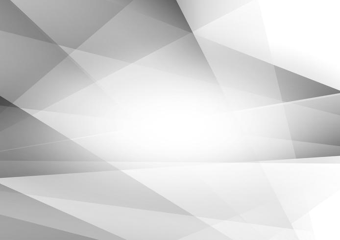 Abstracte geometrische grijze en witte achtergrond, Vectorillustratie eps10 vector