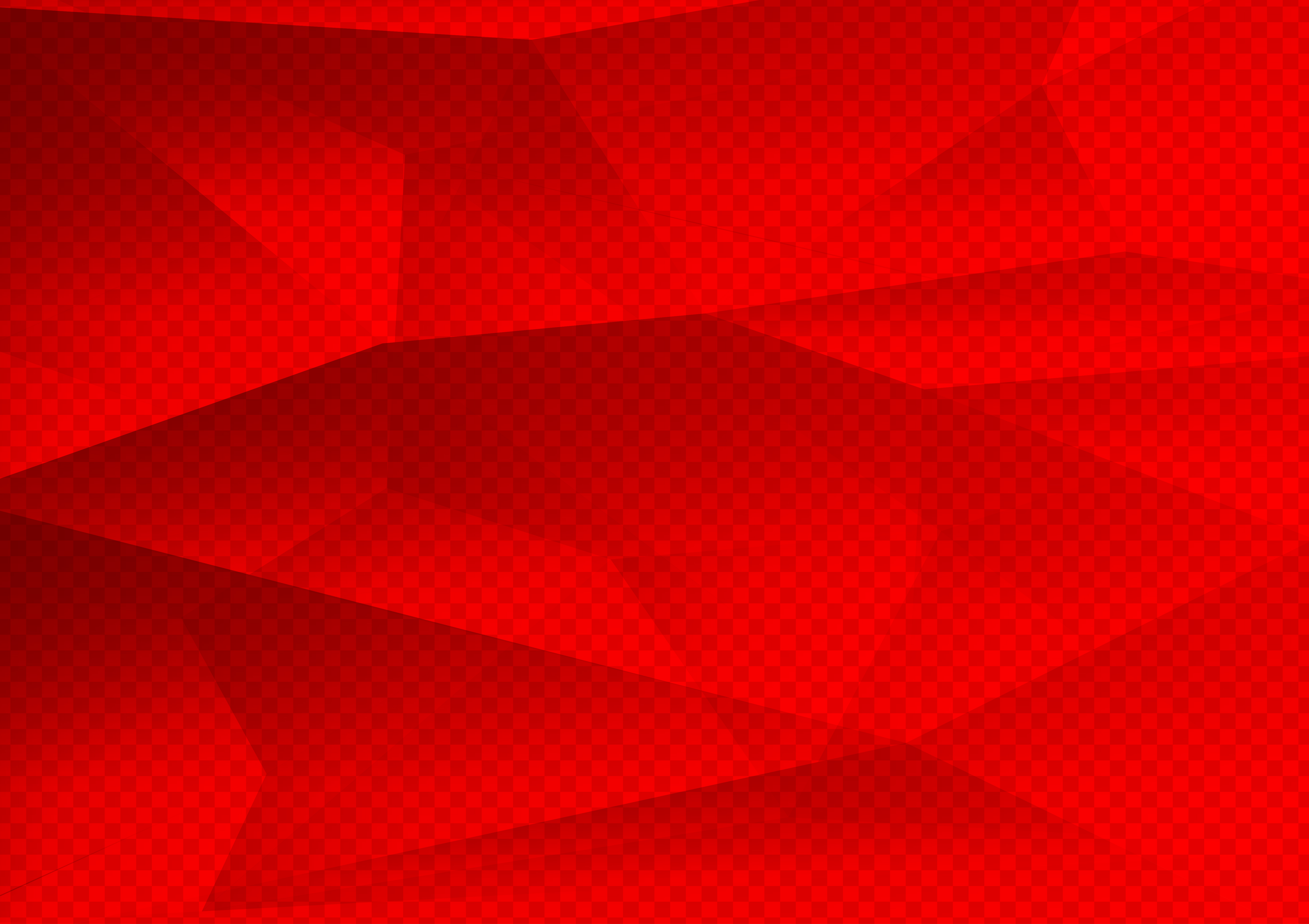 Red Color Polygon Abstract Background Technology Modern