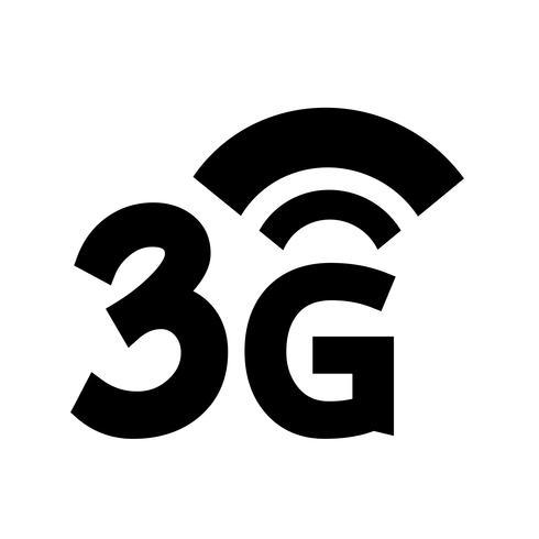 3G Wireless Wifi-ikon