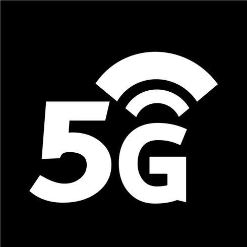 Ícone sem fio 5G Wi-fi