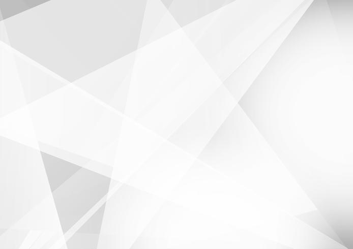 Design de fond moderne géométrique couleur gris et blanc, Illustration vectorielle vecteur