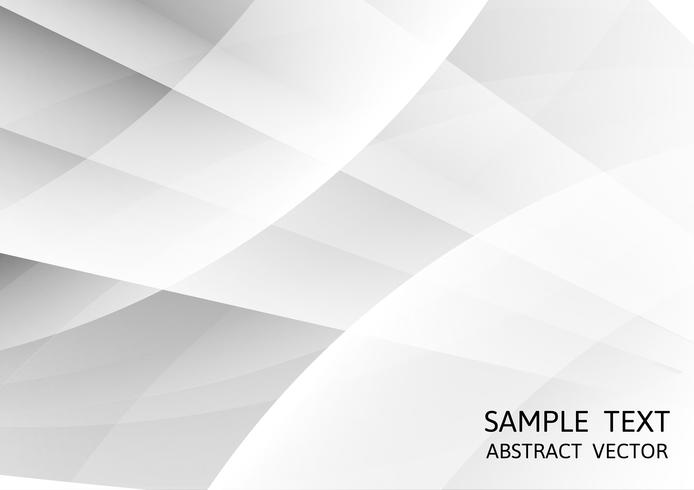 Gray and white color geometric modern design for background, Vector Illustration