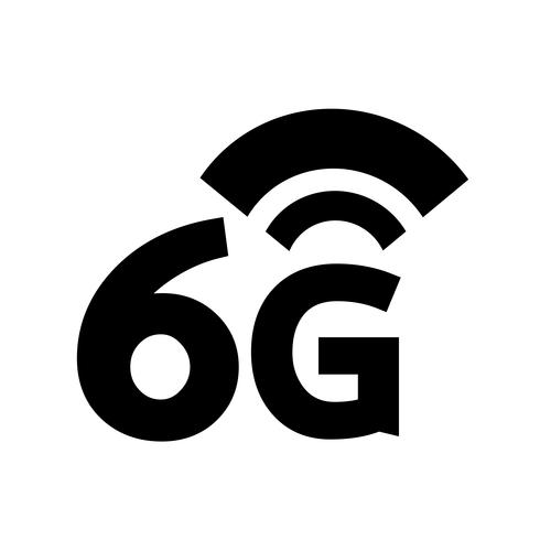 6G Wireless Wifi icon