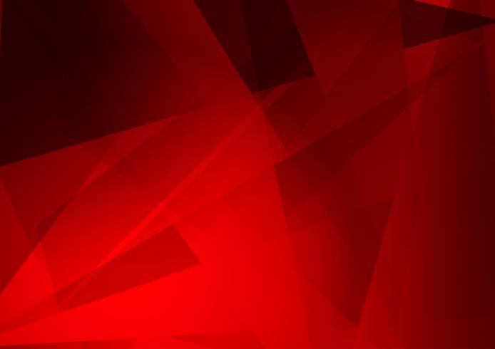 Red color geometric modern background design, Vector Illustration