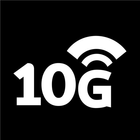 Icône 10G Wifi sans fil