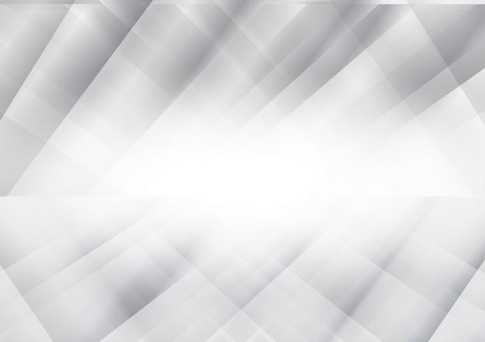Fondo abstracto geométrico gris y plata, ilustración vectorial con espacio de copia, diseño moderno