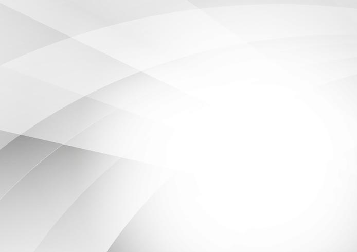Grijs en wit kleuren geometrisch modern ontwerp voor achtergrond met exemplaar ruimte, Vectorillustratie