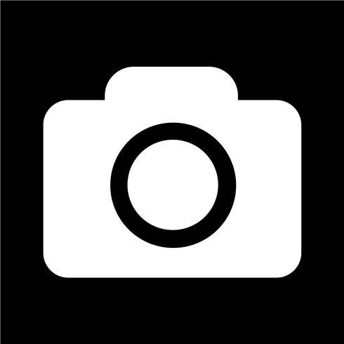 Kamera-Symbol-Vektor-Illustration
