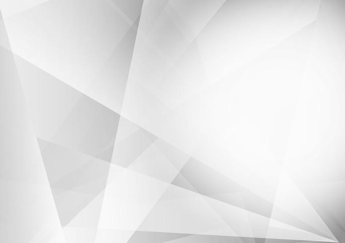 Projeto geométrico moderno do fundo da cor cinzenta e branca, ilustração do vetor
