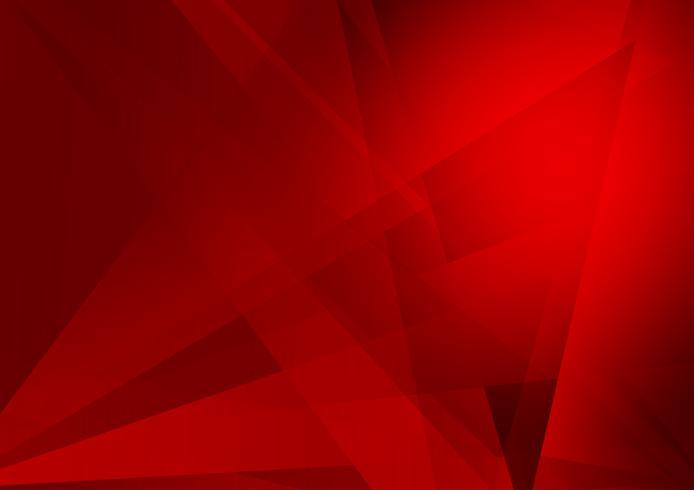 Röd färg geometrisk modern bakgrundsdesign, Vektorillustration