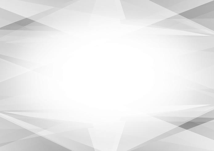 Design moderne géométrique abstrait couleur gris et blanc sur fond, Illustration vectorielle