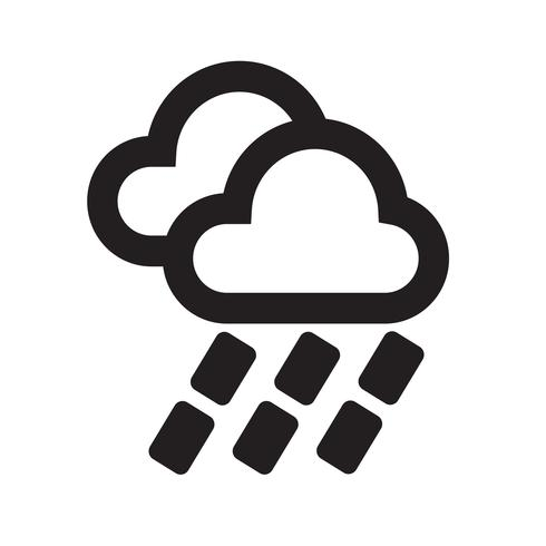 Wetter Icon Vektor-Illustration