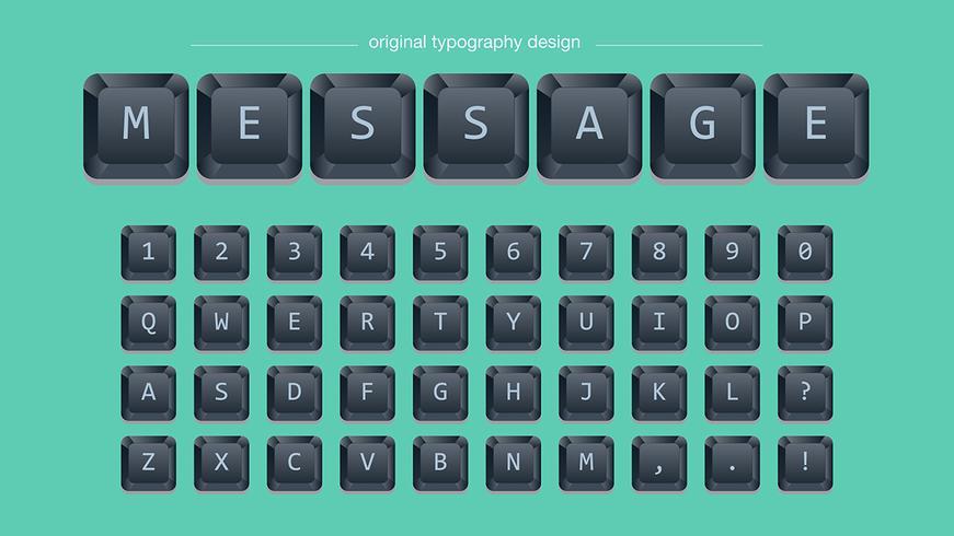 Tipografía Black Keys