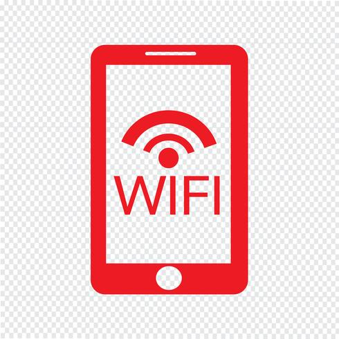 Smartphone-Symbol Vektor-Illustration