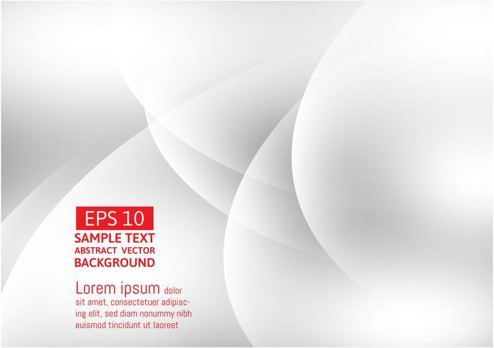 Grå och vit geometrisk abstrakt vektor bakgrund med kopia utrymme, grafisk design