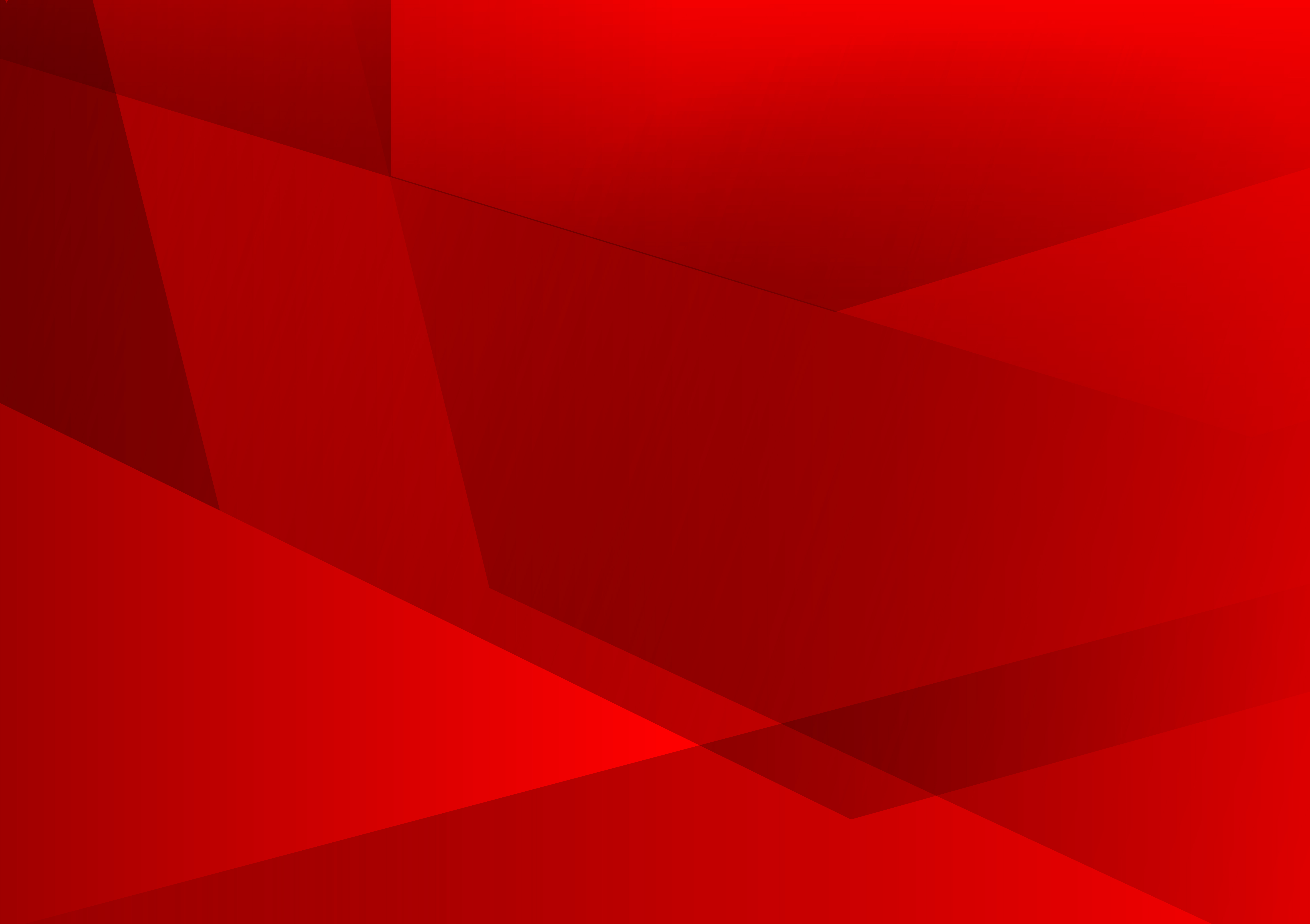 Red Color Geometric Abstract Vector Background Modern