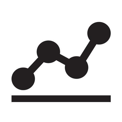 diagrama gráficos icono vector illustration