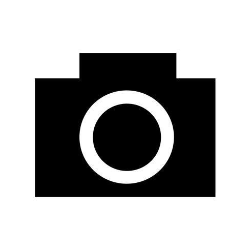 Caméra icône illustration vectorielle