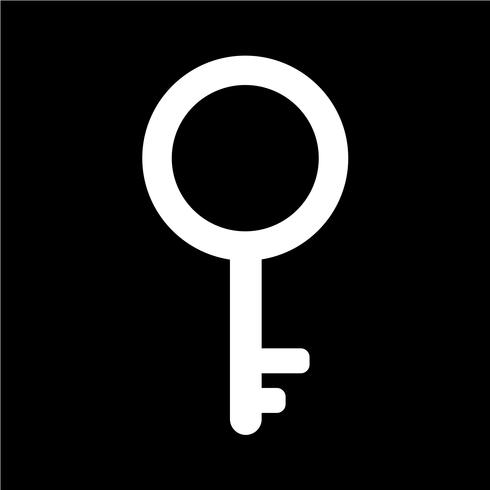 Icono de llave ilustración vectorial