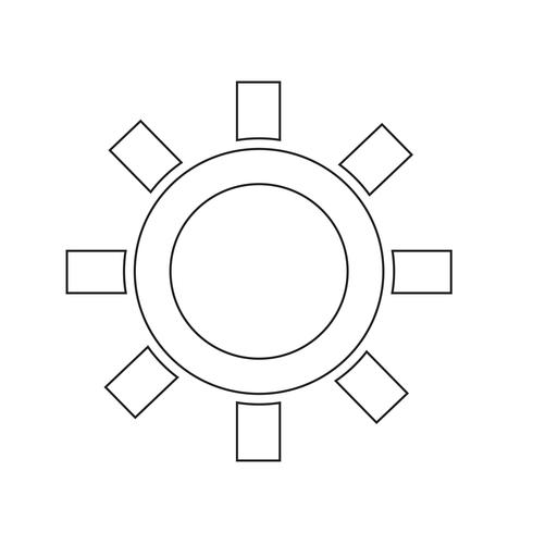 Ilustración de vector de icono de tiempo