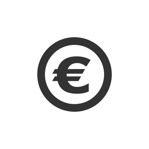 Euro Sign Logo Template Illustration Design. Vector EPS 10.