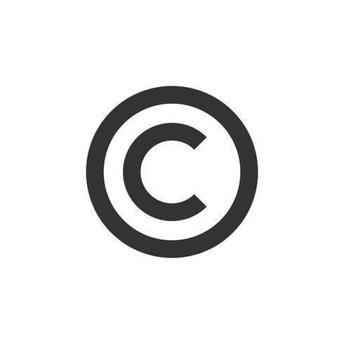 C Letter Copyright Logo Template Illustration Design. Vector EPS 10.