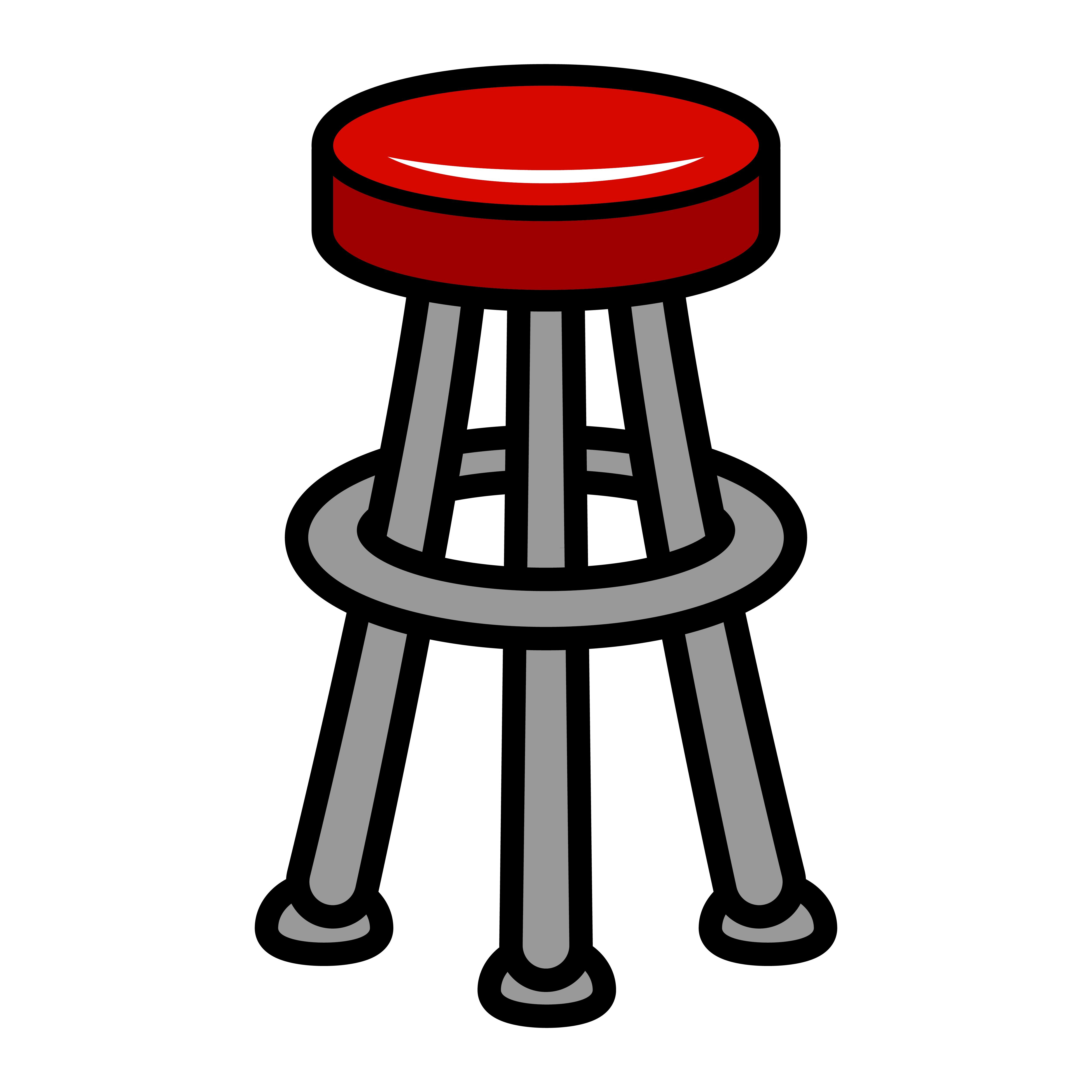 Stool Chair Seating Furniture Illustration - Download Free ...