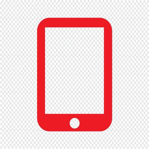 Illustrazione di vettore dell'icona di smartphone