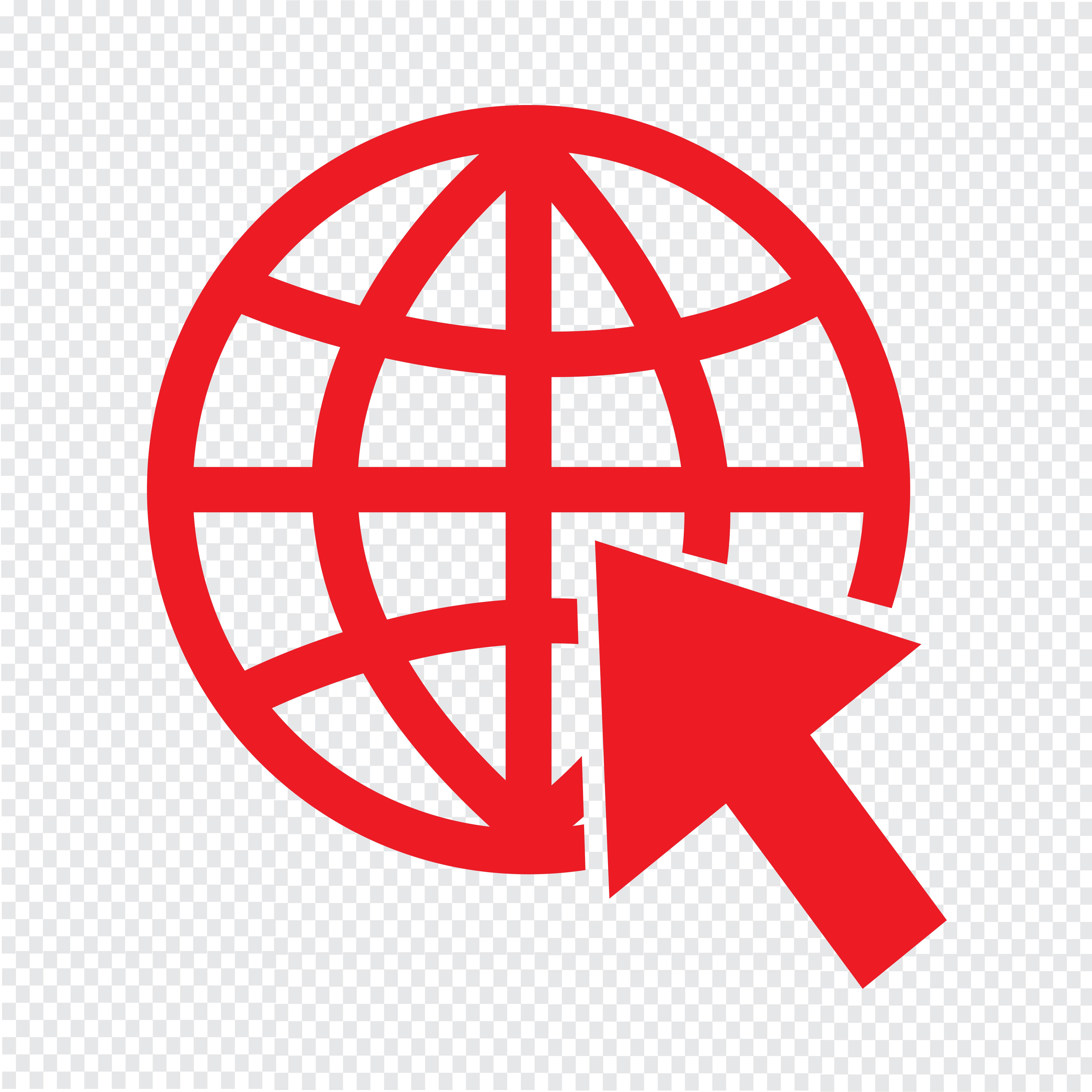 Go to website Internet icon vector illustration - Download ...