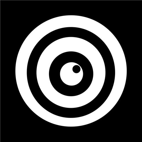 Teken van oogpictogram