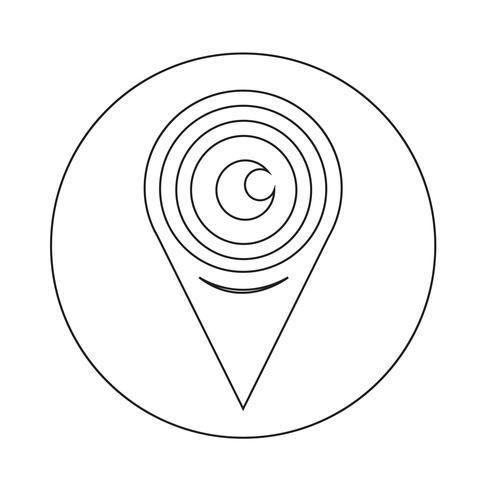 Icona di segno dell'occhio