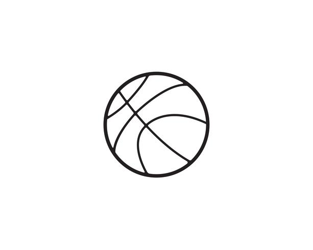 Basket ball player jumps to dunk