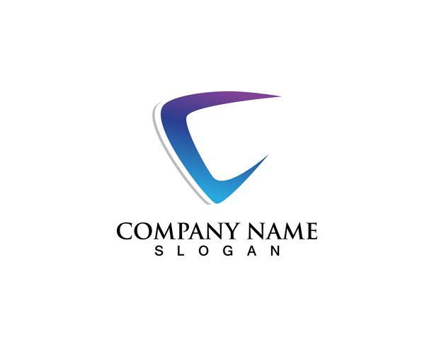C-logo en symbolen vector sjabloon
