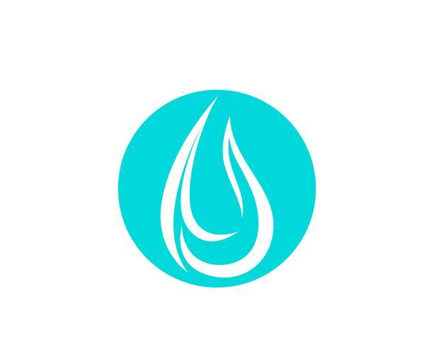 Waterdruppel vector pictogram