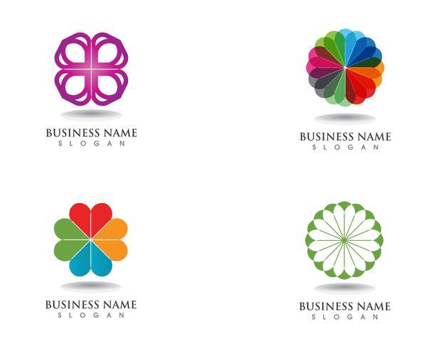 motivi floreali logo e simboli