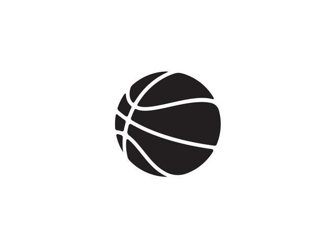 El jugador de la pelota de baloncesto salta al dunk vector