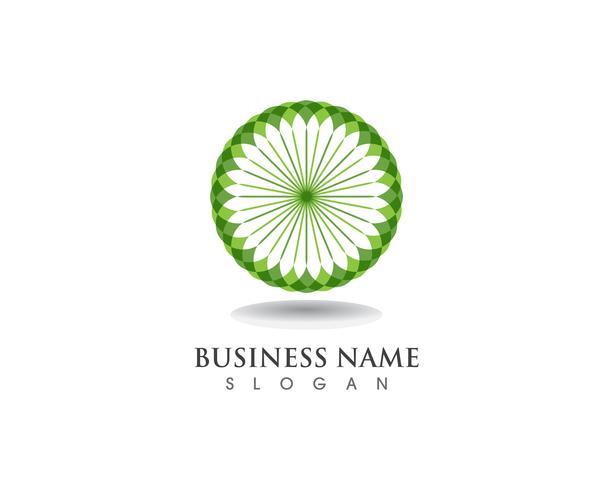 bloemmotieven logo en symbolen