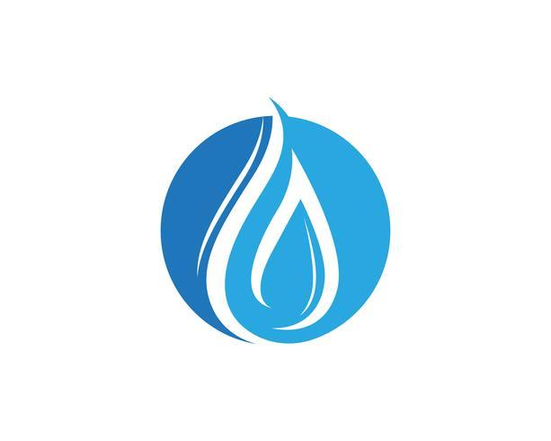 Icône de vecteur de goutte d'eau