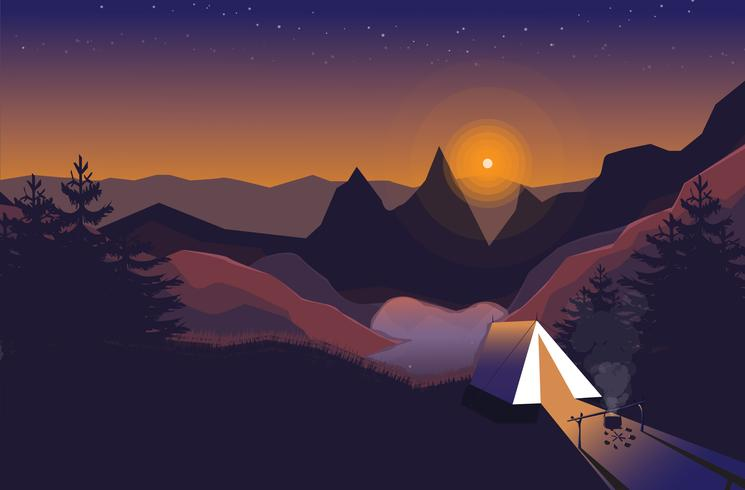 A Dreamy Camping